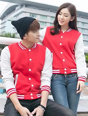 新款班服之棒球服韩版班服款式-米可班服定做